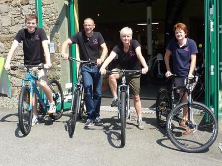 Team-Fahrradscheune